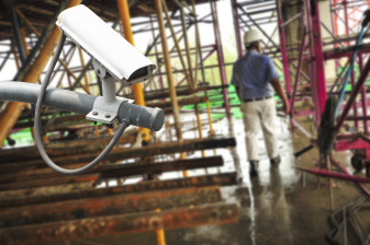CCTV helps keep a close eye on employee safety and compliance