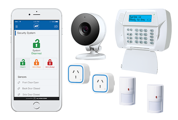 Adt Home Security Systems >> Adt Automated Security Live 24 7 Video Of Your Home Adt